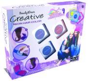 Creative Neon Hair Color: