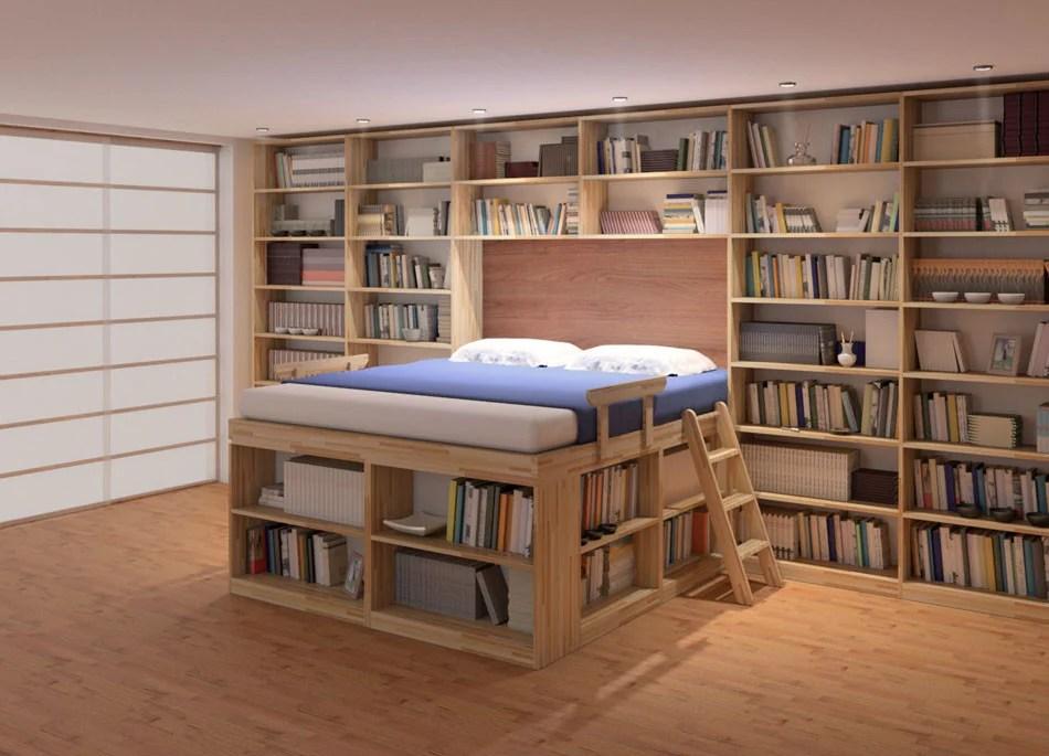 Il letto con soppalco soluzione salvaspazio  UnaDonna