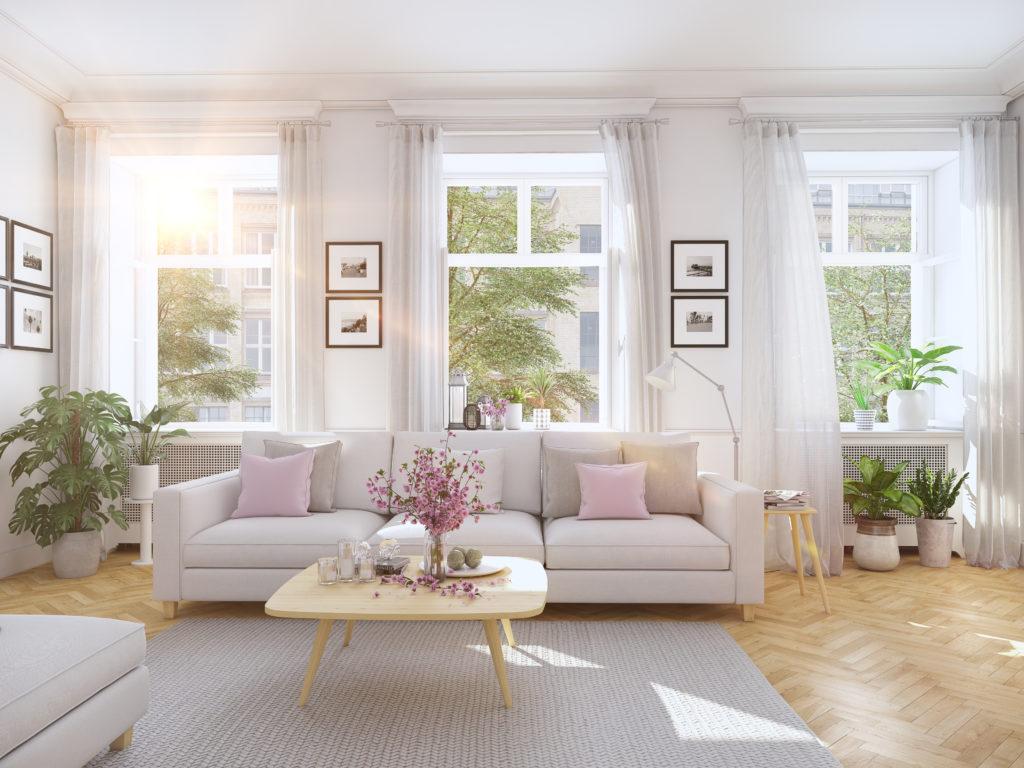 Temete che un soggiorno moderno risulti troppo freddo, poco accogliente? Tende Moderne Per Il Salotto Ecco Alcune Idee Unadonna