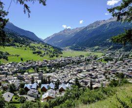 Bormio in Valtellina.