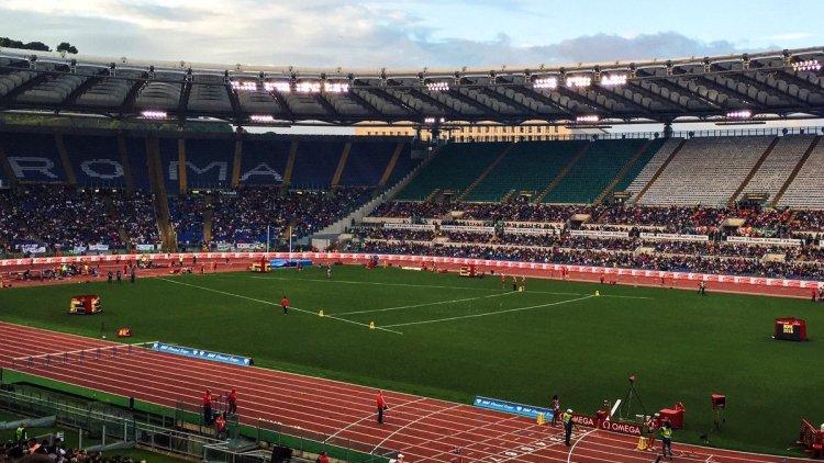 Stadio olimpico-lettera uomini