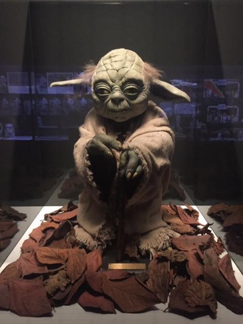 Yoda alla mostra guerre stellari