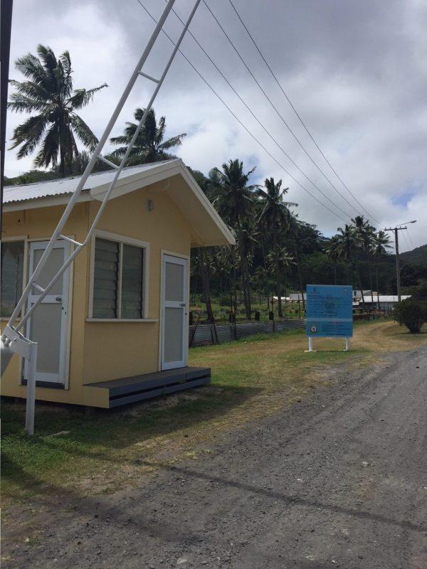 Rarotonga prison Isole Cook