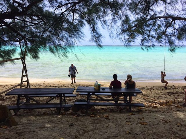 Storytellers tour a Rarotonga