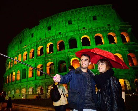 San patrizio Colosseo Roma