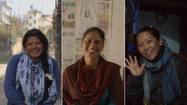 Hira, Rita e Mina Sukhi