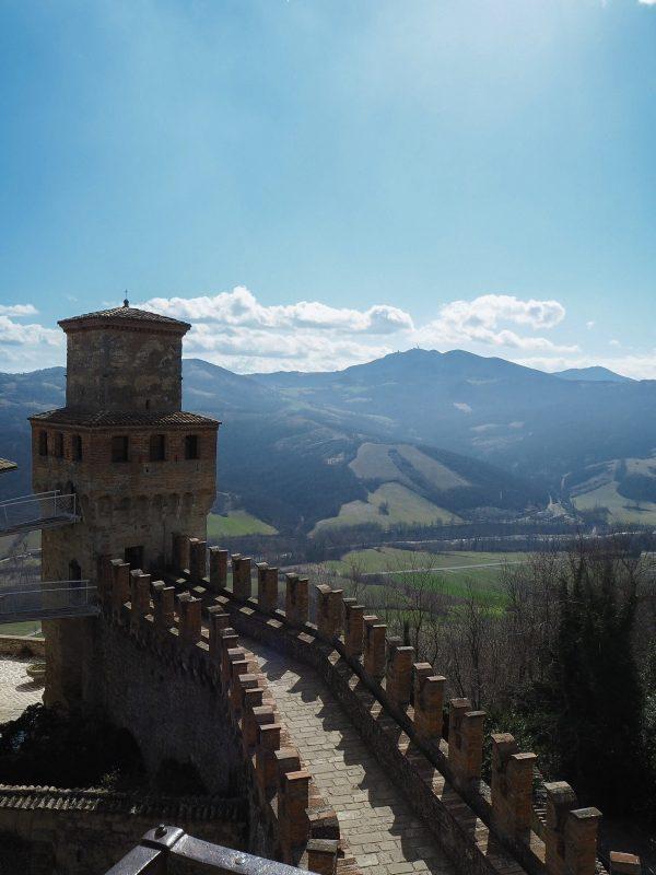 Castelli dell'Appennino Tosco-Emiliano Vigoleno