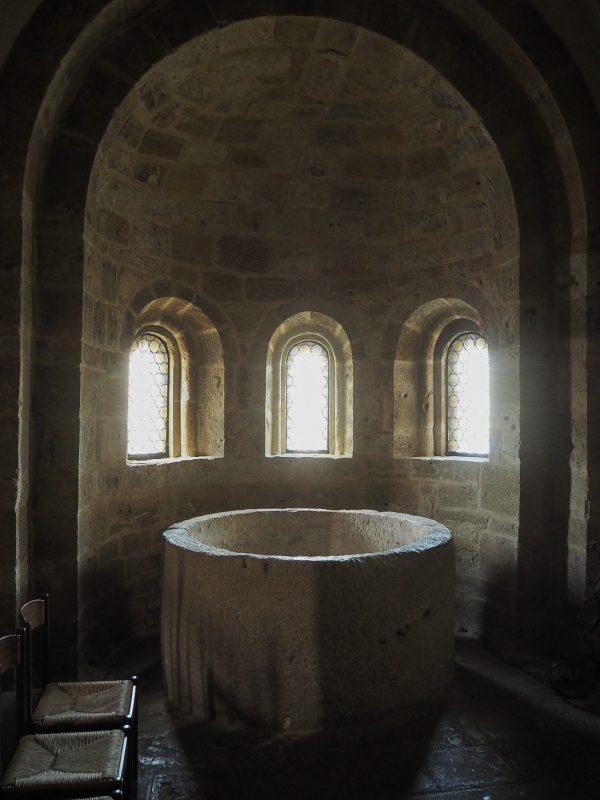 Fonte battesimale chiesa Castell'Arquato