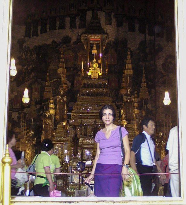 Unadonnaalcontrario al Wat Prah Kaew