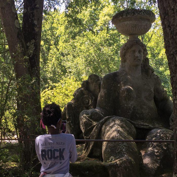 Unadonnaalcontrario Parco dei Mostri di Bomarzo