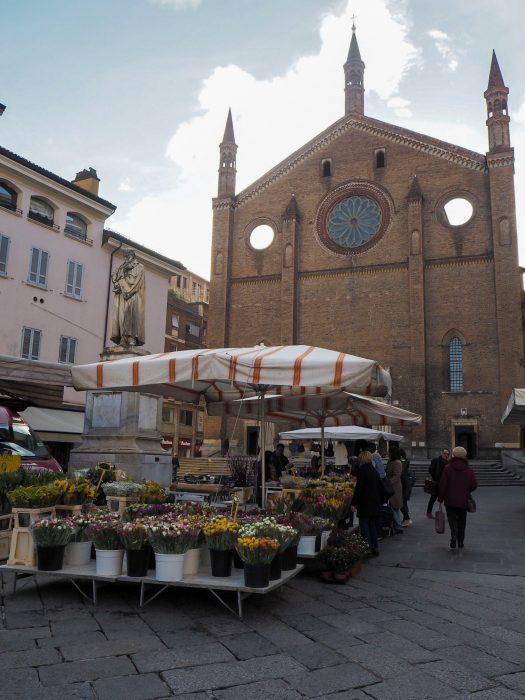 Chiesa San Francesco Piacenza in un giorno