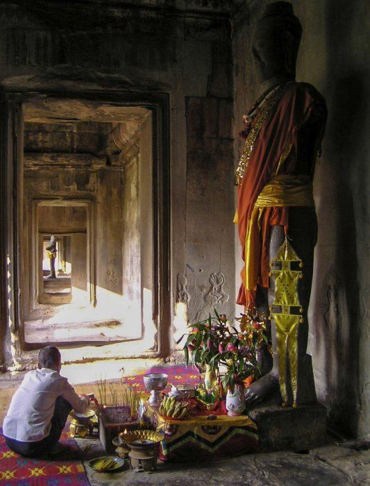 Offerta ad Angkor Wat