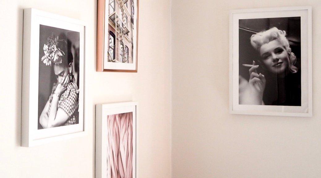 Marilyn e Frida nel mio studio