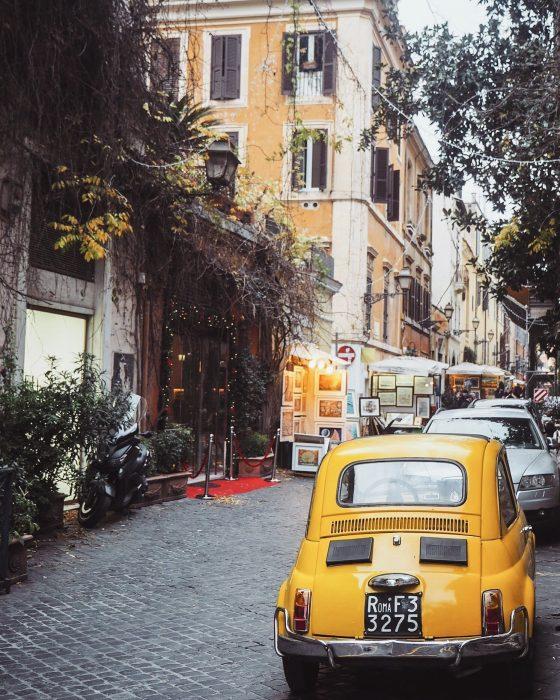 Posti instagrammabili di Roma Via Margutta