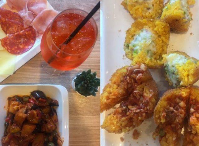 aperitivo a Roma gluten free