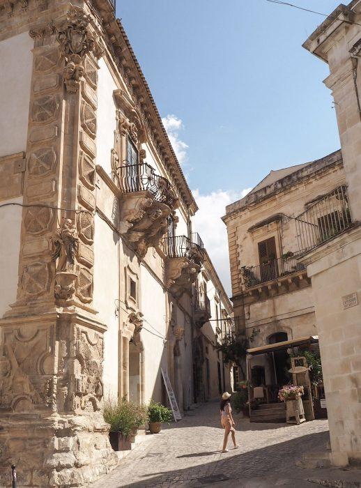 Palazzo Beneventano a Scicli