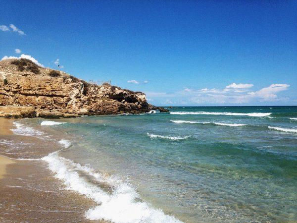 Spiaggia di Eloro sicilia Sud orientale