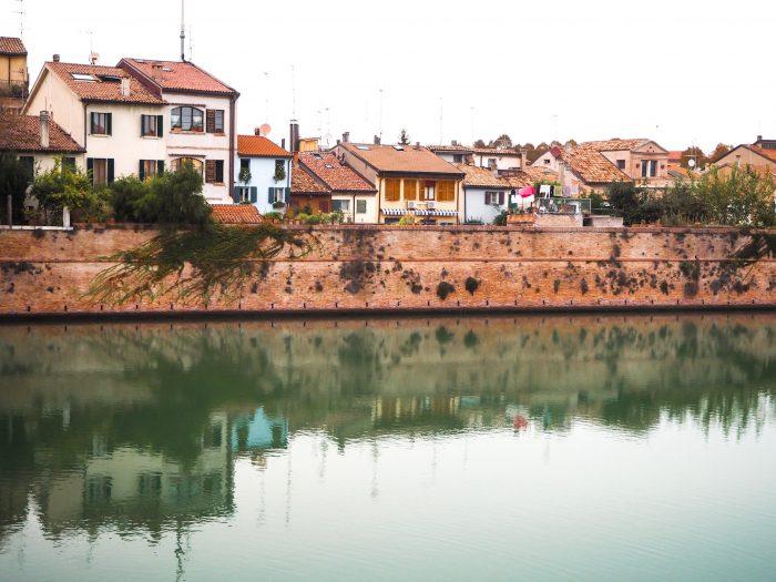 Vista Borgo San Giuliano da Ponte Tiberio