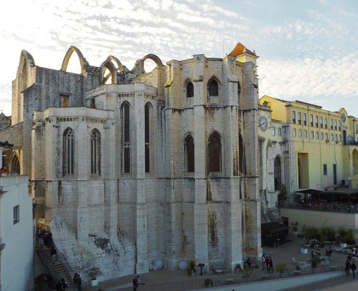 Convento do Carmo Lisbona