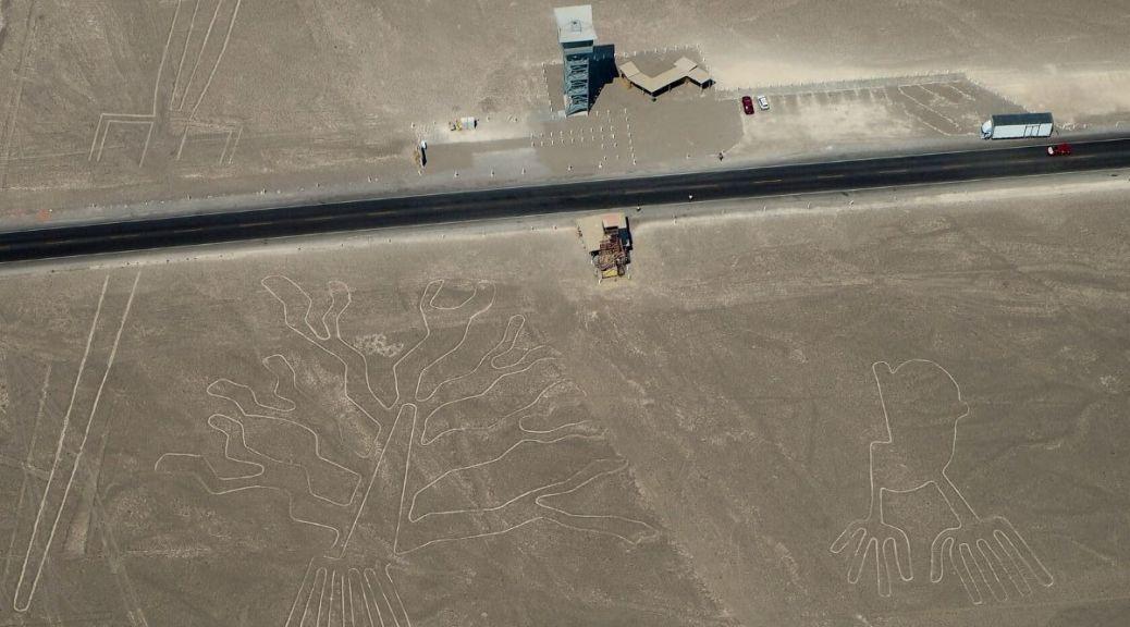 Albero e Mani Linee di Nazca