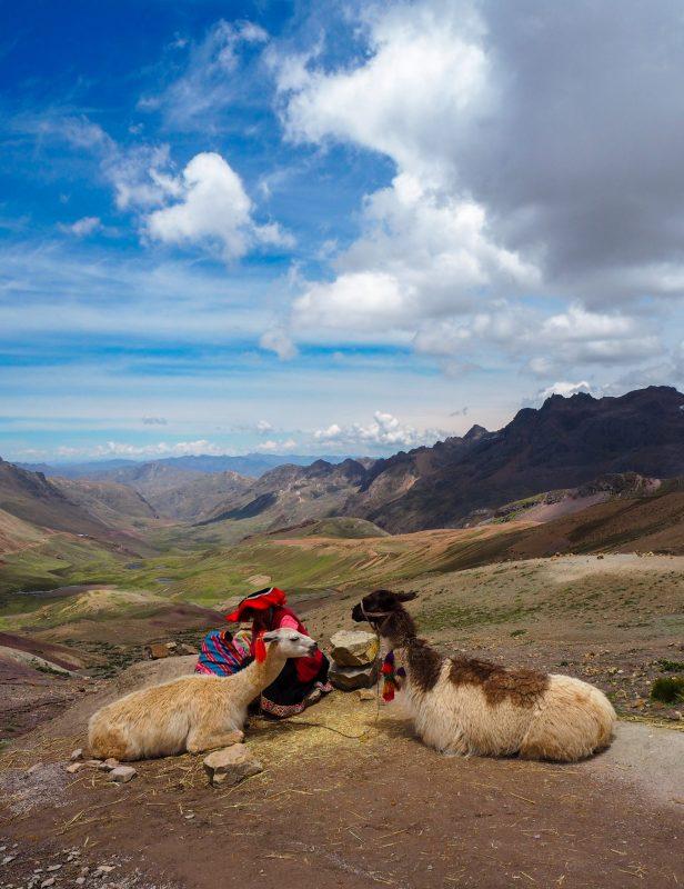 Vinicunca landscape Perù