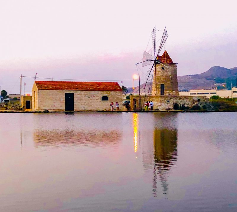 weekend romantico in Sicilia saline di trapani