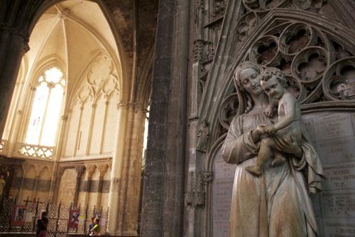Bordeaux - Cattedrale di Sainte Andrè, interno