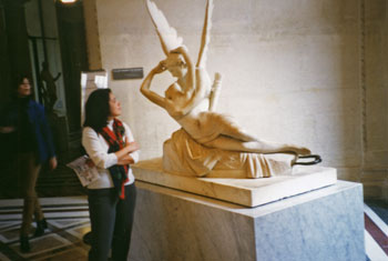 Amore e Psiche, scultura al Museo del Louvre