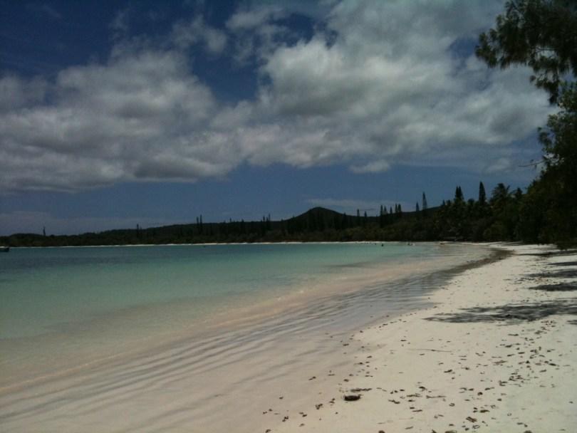 Spiaggia di Kanumera, Isola dei Pini, Nuova Caledonia