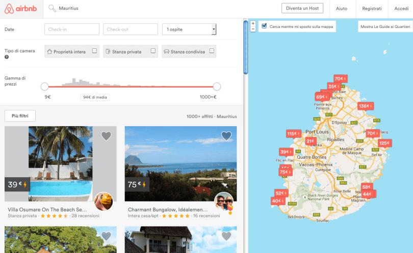 airbnb mauritius