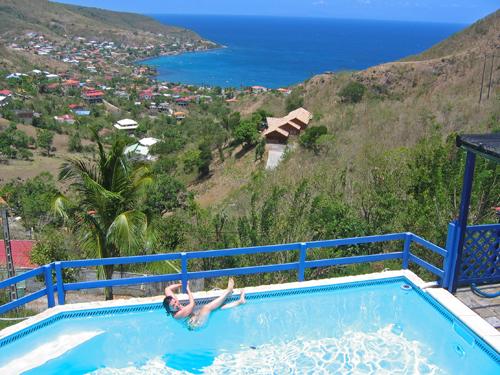 Vacanze ai Caraibi in una casa presa in affitto da privati