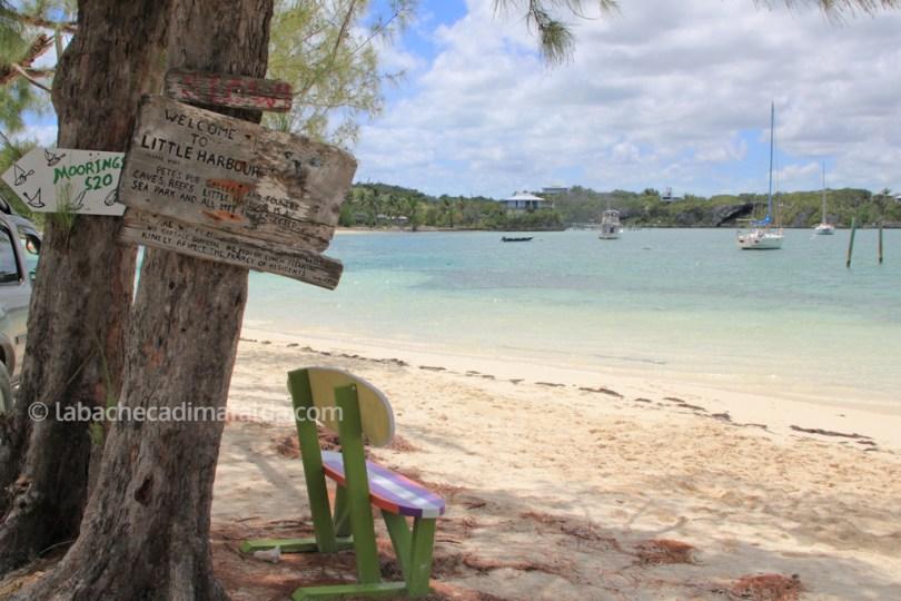 rest and relaxation, uno sguardo sulla baia