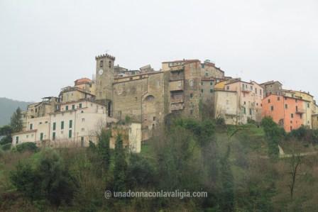 Vista sul borgo medievale di Arcola