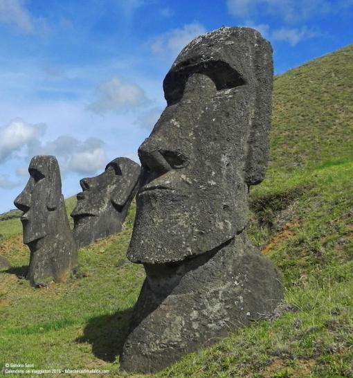 Moai Isola di Pasqua - di Simona Sacri