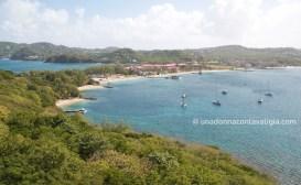 Vista su Pigeon Island
