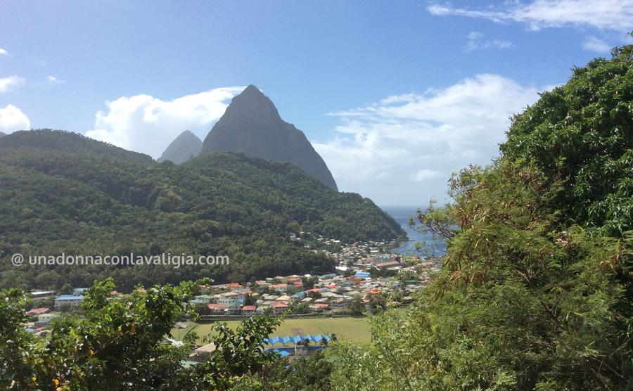 The Pitons, il simbolo di Saint Lucia