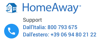 call center supporto HomeAway