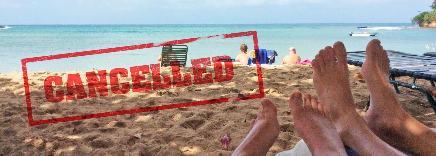 rimborso viaggio annullato cancellato