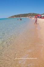 chia spiaggia di sa colonia
