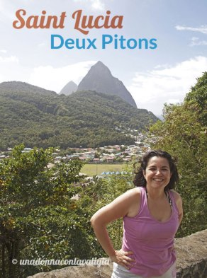 viaggio a saint lucia caraibi pitons