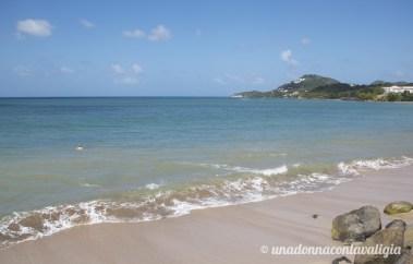 choc beach santa lucia caraibi