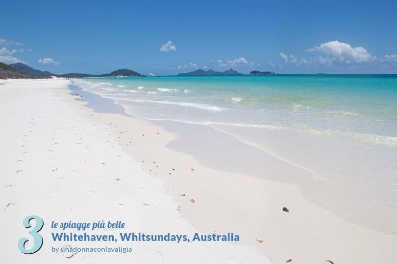 spiaggia whitehaven australia