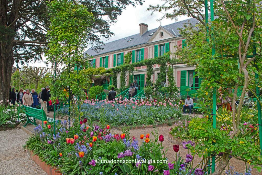 Esterno della Casa-Museo di Monet a Giverny