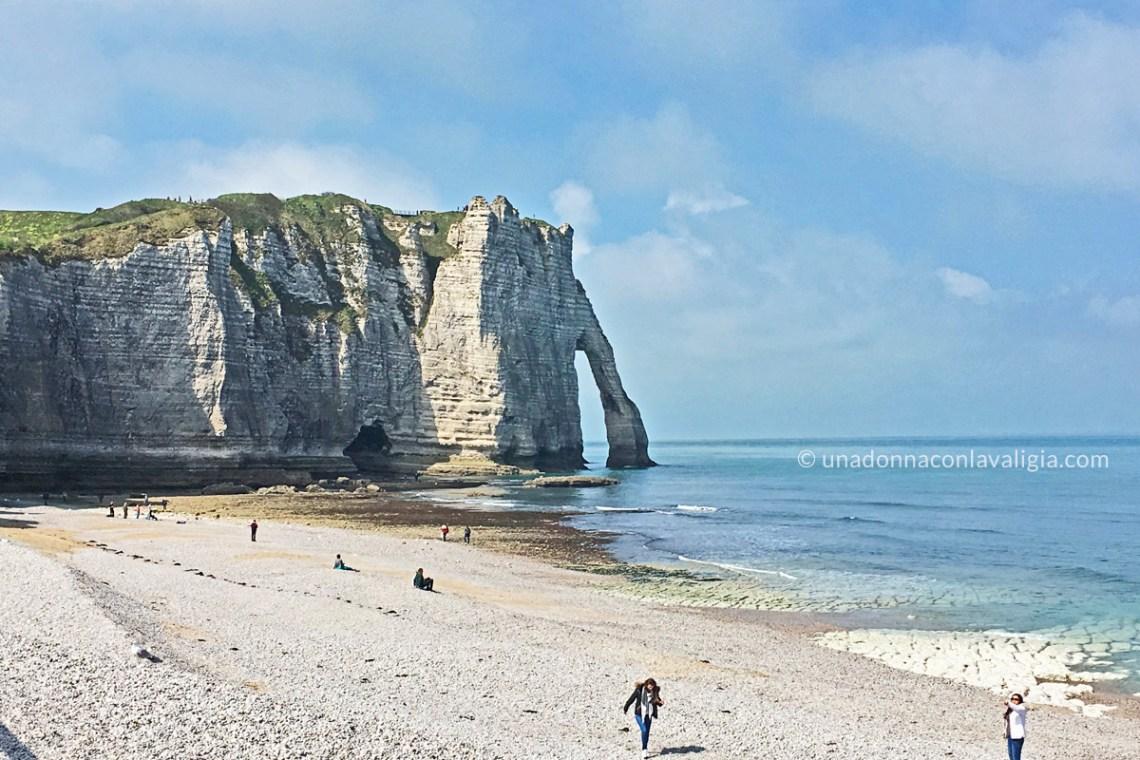 Scogliera di Étretat Normandia