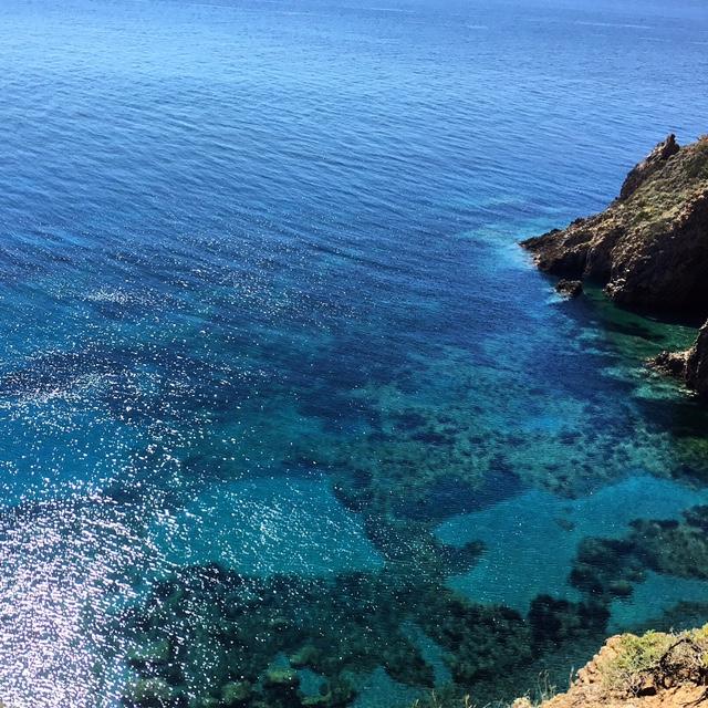 Il mare di Panarea