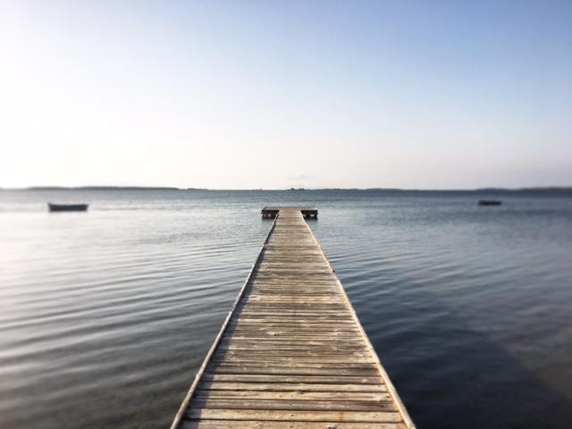 Pontile laguna dello Stagnone