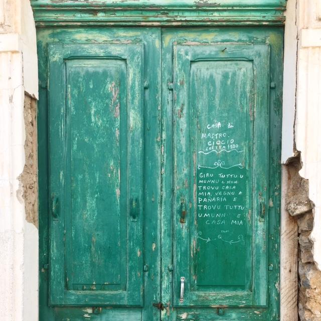 Porta verde Panarea