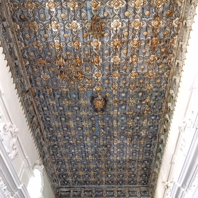 Soffitto Chiesa di San Vincenzo Piazza Armerina