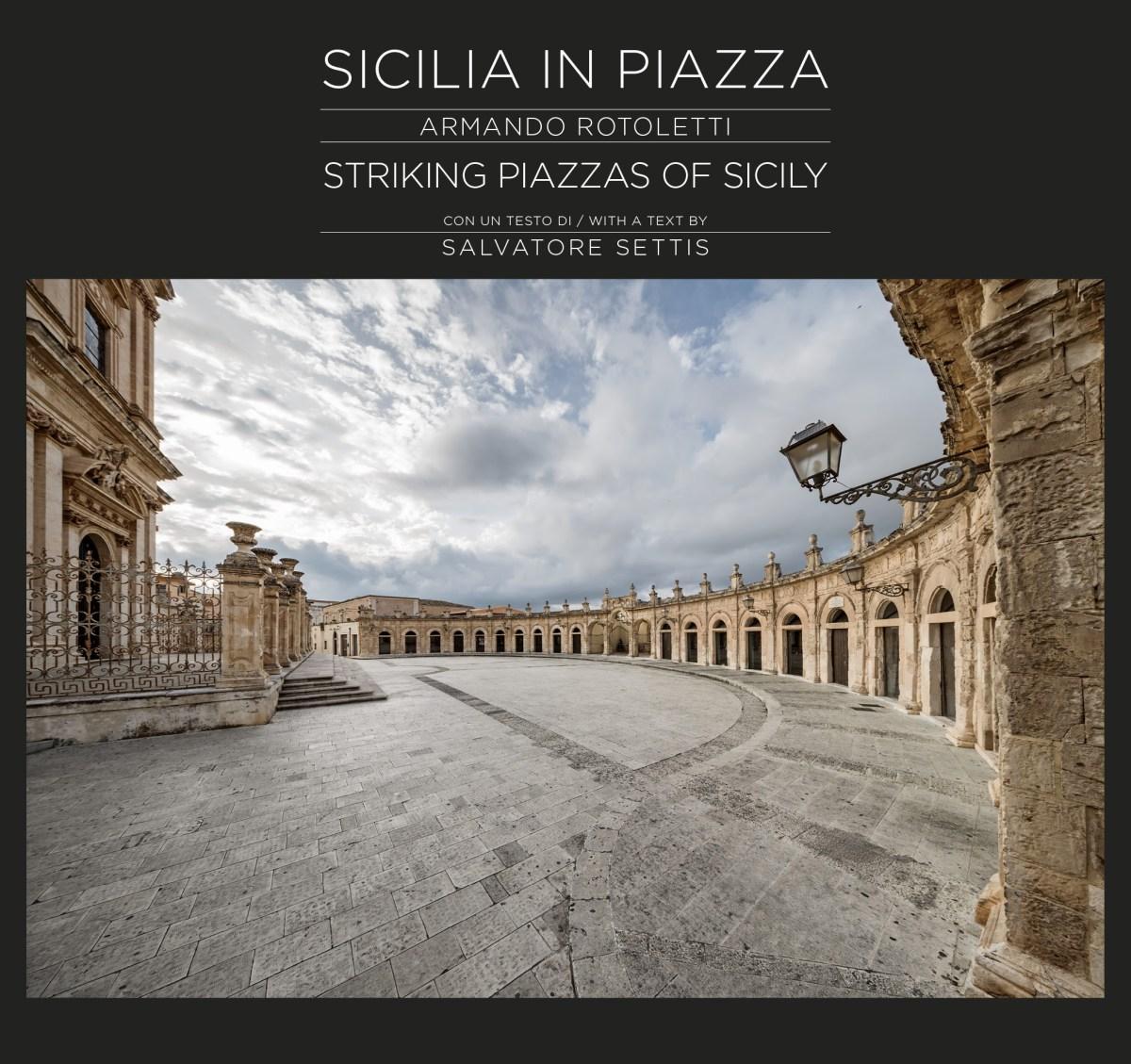 """Copertina libro """"Sicilia in Piazza"""" Armando Rotoletti"""