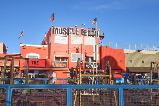 Muscle Beach gym